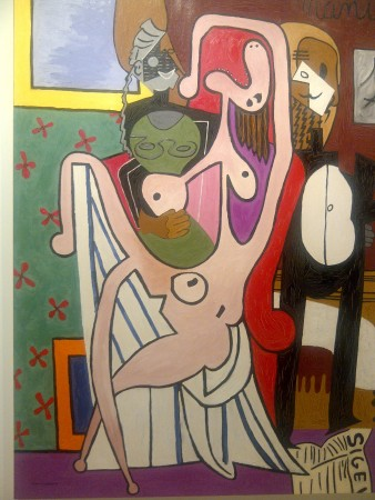 Fake Picasso looks cool