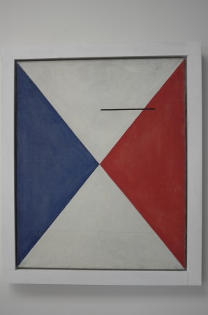 Calder painting from the late 30s, a bit of Mondrian in it for sure, this is rare and interesting.
