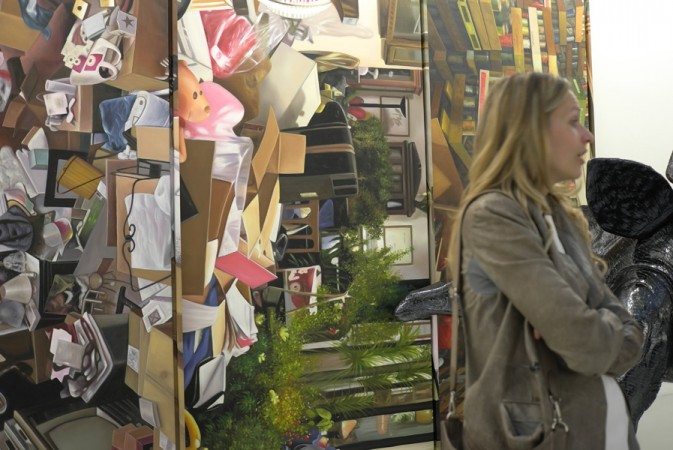 paintings of hoarders