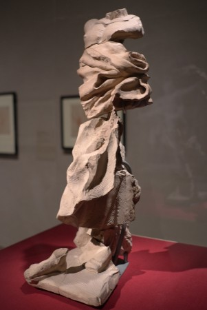 These are fragments of Bernini's terracottas, they are parts of the larger sculptures he designed for Rome back in the late 17th century