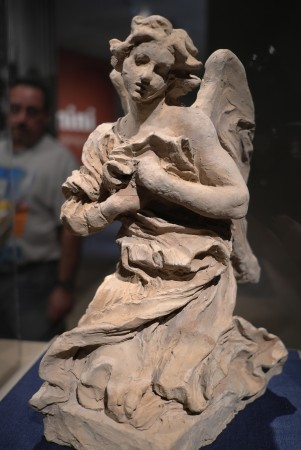 Beautiful praying angel, so sad too! Grazie Paola and thank you Mr. Bernini, you are really amazing.  Ci vediamo più tardi!