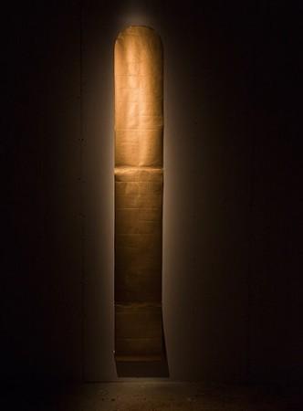James Lee Byars <em>The Golden Scroll</em>