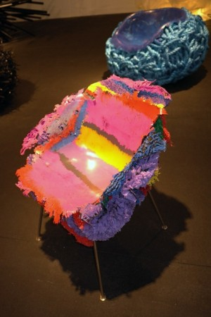 Psychedelic chair