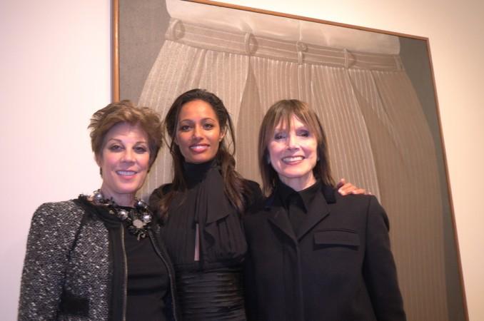 Peggy Siegel, Rula Jebrael and Jean Damianian, they all like Gnoli too