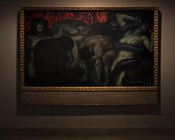 Franz Von Stuck <em>Inferno</em>