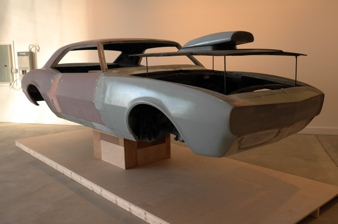 Experimental new car sculpture