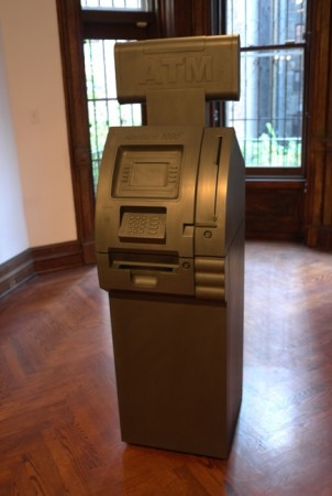 This is really cool… a carbon ATM… spits out carbon nickels