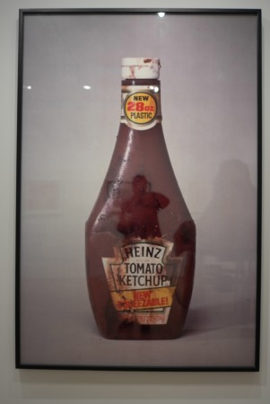 Paul McCarthy's classic ketchup propo image
