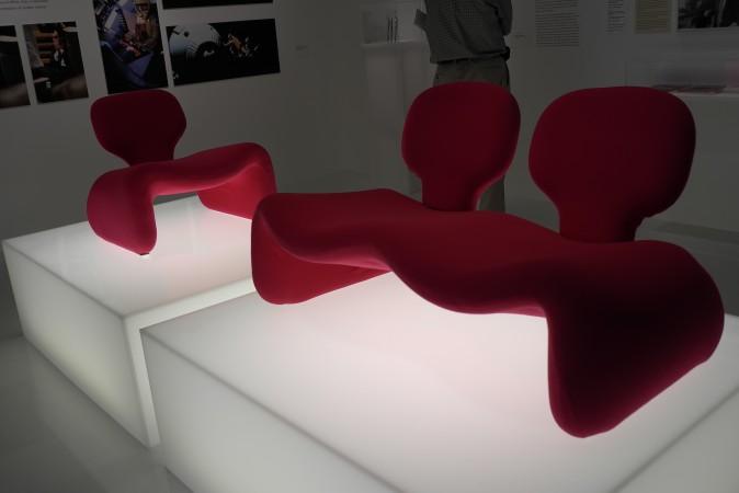 Pierre Paulin chairs