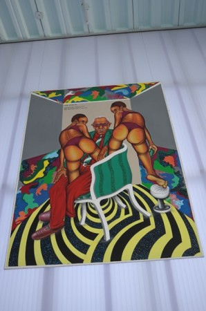 Some fun African art