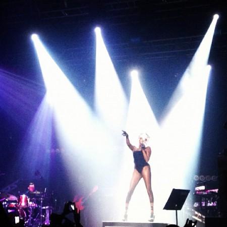 Grace Jones was incredible. Lady Gaga, you suck.