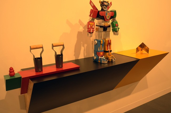 Haim Steinbach at Tanya Bonakdar gallery? You nailed it on this one, bravo!!! Sorry, you're OUT.
