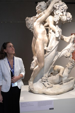 Check this out, a Bernini visit with Met curator Paola D'Agostino