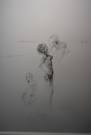 Hot late Dali drawing. Why did it only get authenticated in 2011?