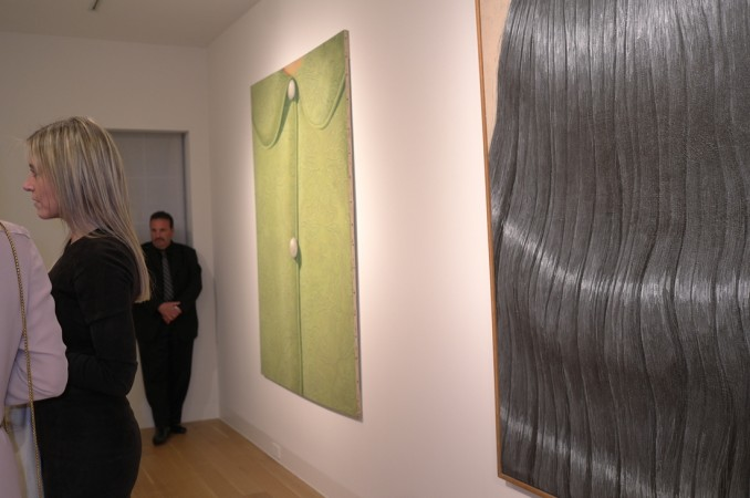 see Valentina Castellani from Gagosian gallery, she likes Gnoli too!