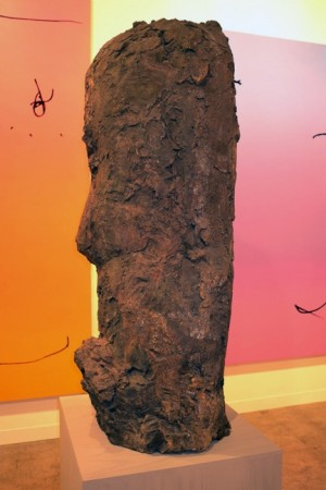 This is Hans Josephsohn at Gavin Brown's, he's old, he's Swiss, this is ugly!!! We may have a winner!
