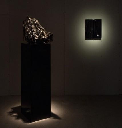 Olivia Berckemeyer <em>Frozen Endurance</em>, Daniel Turner <em>Untitled 5150 (1/1/12)</em>