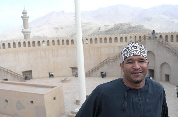 My guide Abdullah's a fun guy, I liked him, though he brought no GPS and no map…go figure.