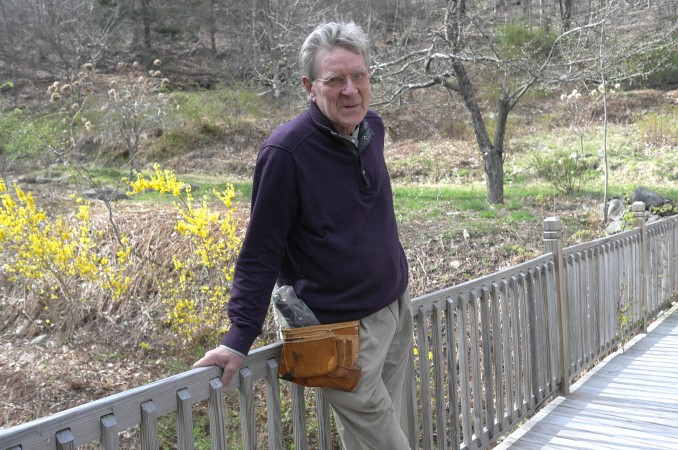 Professor Robert Thurman, a great scholar of Eastern religions… and at 70, still an imposing figure. I studied with him in the 80s, he was a lot meaner then.
