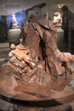 Occasionally for large commissions like fountains a wooden model was made