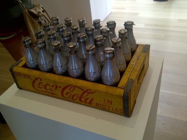And Coca Cola bottles