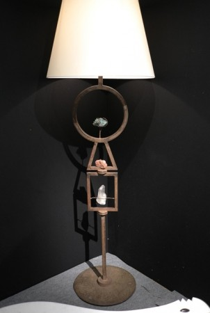 Du Plantier lamp, super cool. $185k at Primavera Gallery… and that dude don't bargain.
