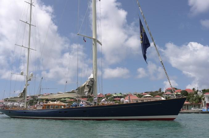 Rebecca's a lovely yacht