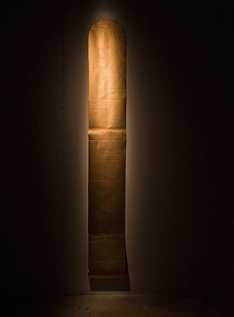 James Lee Byars <em>The Golden Scroll</em>