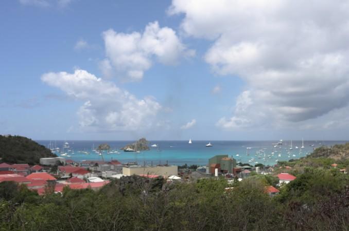So long Gustavia harbor…