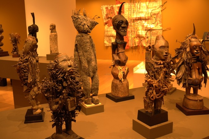 Pretty good quality African Art, no masterpieces.