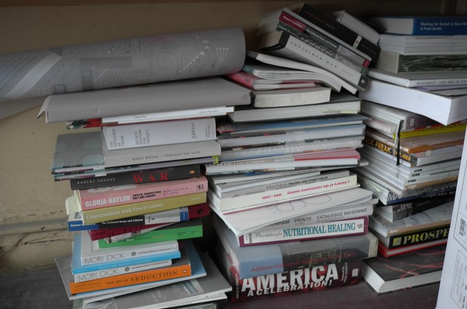 Mark's library is a bit MESSSY!!!!