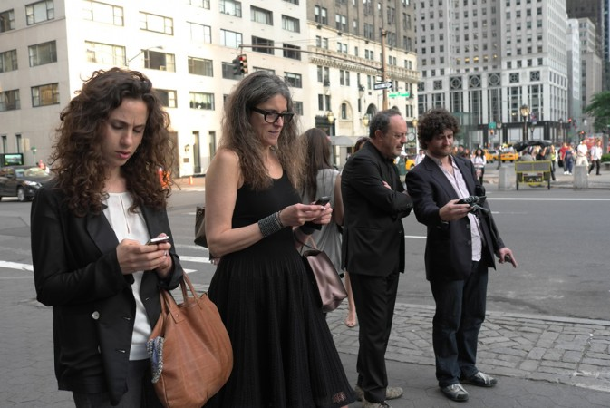 the art crowd is really into it, ciao Ludovica!<br/>BRAVA Paola, it's the best public sculpture we've had in NYC in years